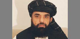 File photo of Suhail Shaheen, Taliban spokesman | Twitter/@suhailshaheen1