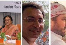 Rita Bahuguna Joshi, Jitin Prasada, Lalitesh Tripathi