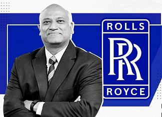 Rolls-Royce India and South Asia President Kishore Jayaraman