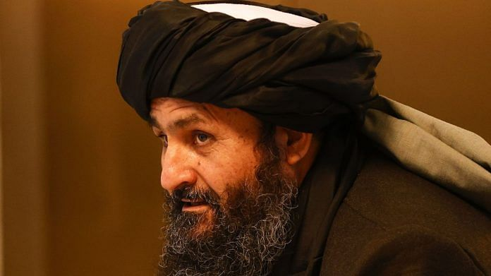 Mullah Abdul Ghani Baradar. (Sefa Karacan/Anadolu Agency/Getty Images via Bloomberg)