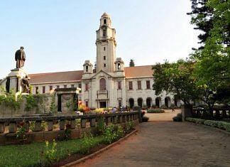 The Indian Institute of Science campus in Bengaluru | Photo: @iiscbangalore