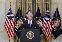 US President Joe Biden speaks in the White House in Washington, DC on 24 September 2021 | Photo: Al Drago | Bloomberg