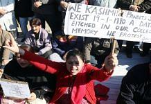 Representational Photo | A protest for Kashmiri Hindus | ANI file