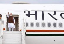 PM Narendra Modi embarks on a three-day visit to the US from New Delhi, on 22 September 2021 | ANI photo