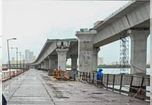 The under-construction Mumbai Trans Harbour Link (MTHL) project | MMRDA | Twitter
