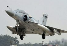 Representational image of an Indian Air Force Mirage 2000 fighter jet | PTI file photo