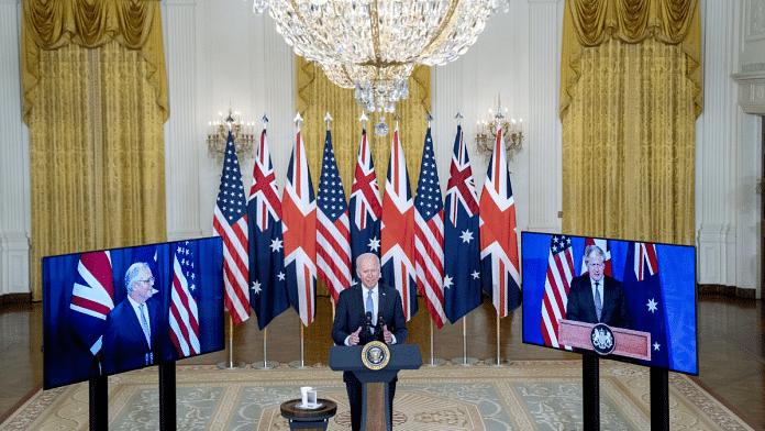US, Britain & Australia announce new trilateral Indo-Pacific alliance  'AUKUS'