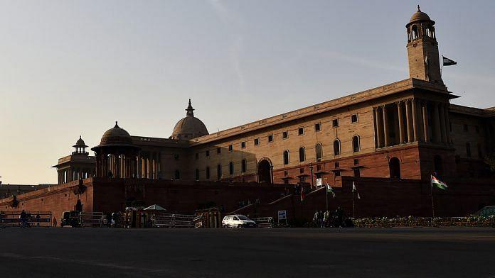 (Representational image) North Block in New Delhi   Bloomberg file