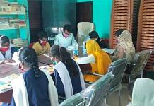 Students reading at one of the panchayat libraries in Purnea, Bihar | By special arrangement