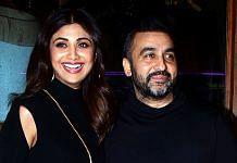 File photo of Bollywood actress Shilpa Shetty and her husband Raj Kundra
