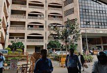 Outside gate no.4 of Rohini District Court in New Delhi | Bismee Taskin | ThePrint