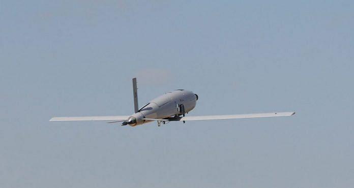 The SkyStriker kamikaze drone | Photo: https://elbitsystems.com/product/skystriker/