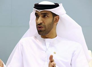 UAE Minister of State for Foreign Trade Thani Al Zeyoudi (file photo) | Bloomberg