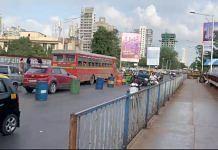 A view of the Tilak bridge in Dadar, Mumbai | Photo: Manasi Phadke | ThePrint