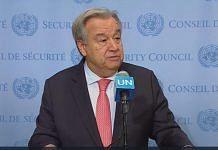 File image of United Nations secretary general Antonio Guterres