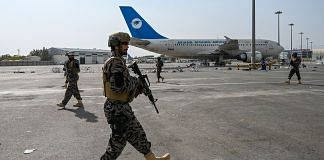 Taliban Badri special force fighters secure the airport in Kabul, on 31 August 2021 | Photo: Wakil Kohsar/AFP/Getty Images via Bloomberg