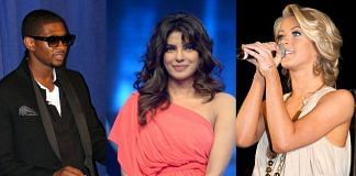 L-R: Usher, Priyanka Chopra and Julianne Hough of 'The Activist'   Commons