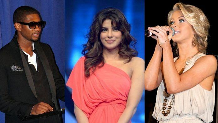 L-R: Usher, Priyanka Chopra and Julianne Hough of 'The Activist' | Commons
