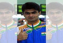 Gautam Buddh Nagar DM and para-badminton player Suhas L. Yathiraj | Photo: ANI