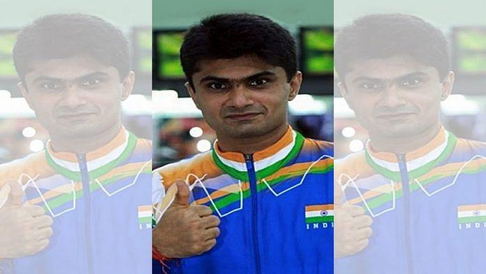 Gautam Buddh Nagar DM and para-badminton player Suhas L. Yathiraj   Photo: ANI
