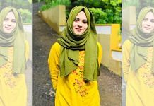 Fathima Thahiliya, who was removed as national vice-president of the Muslim Student Federation Monday   Twitter/@thahiliya