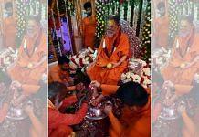 File image of Mahant Narendra Giri | ANI