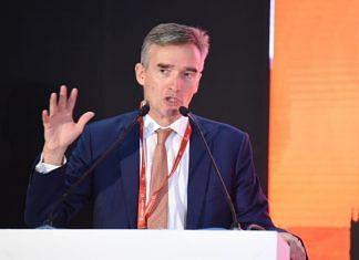 File image of UK High Commissioner to India Alex Ellis | Twitter/@AlexWEllis