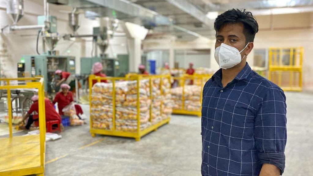 K.A. Rashid, the director of Ajmi Foods | Photo: Nirmal Poddar/ThePrint