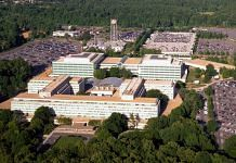 An aerial view of the CIA headquarters in Langley, Virginia. | Photo: Commons