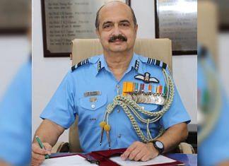 Air Marshal VR Chaudhari | Twitter/@PIB_India