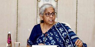 A file photo of Finance Minister Nirmala Sitharaman | ANI photo