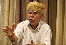 Lokendra Singh Kalvi, founder of Karni Sena, Wednesday at Hotel Diplomat in New Delhi | Photo: Manisha Mondal/ThePrint
