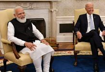 PM Modi and US President Biden at the White House during their meeting Friday | Twitter | @PMOIndia