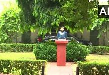 A bust of late Ram Vilas Paswan, Lok Janshakti Party leader and Union minister, has been installed at 12, Janpath in the national capital where he lived. | Photo: ANI