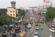 This Patna street was featured in a story on PatnaBeats, about the launch of the Bihar capital's odd-even parking on 2 November 2016 | Twitter