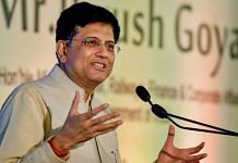 File photo of Commerce and Industry Minister Piyush Goyal | PTI