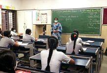 Representational image. | A school in New Delhi. | Photo: ANI