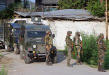 Army soldiers during an operation against militants in Kulgam | Representational image | ANI File Photo