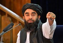 Taliban spokesperson Zabihullah Mujahed during a press conference in Kabul on August 24, 2021 | Photo: Hoshang Hashimi | AFP/Getty Images via Bloomberg