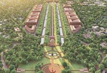 A model view of Delhi's proposed Central Vista | Twitter