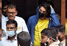 Bollywood actor Shah Rukh Khan's son Aryan Khan along with other accused leaves the NCB office in Mumbai, on 3 October 2021   ANI photo