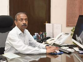 File photo of retired IAS officer Amit Khare | Twitter/@PIB_India