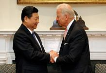 File photo of China President Xi Jinping and US President Joe Biden in the Roosevelt Room at the White House in Washington, DC | Photo: Chip Somodevilla/Getty Images via Photo
