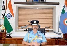 IAF Chief Air Chief Marshal V.R. Chaudhari | Twitter/@IAF_MCC