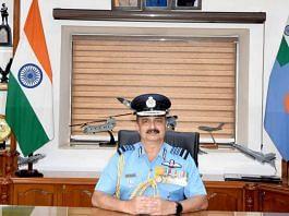 IAF Chief Air Chief Marshal V.R. Chaudhari   Twitter/@IAF_MCC