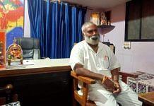 Ramakant Konduskar, founder of the Sri Ram Sene Hindustan | Photo: Anusha Ravi Sood/ThePrint
