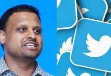 File photo of Twitter MD Manish Maheshwari (left) and Twitter logo (right) | Linkedin/Pixabay