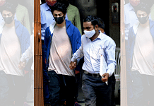 Aryan Khan, arrested in drugs case, at the NCB office after a medical check-up, in Mumbai on 6 October 2021   Photo: ANI