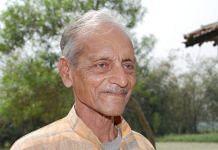 Sachchidanand Sinha   Photo Credit: Special Arrangement