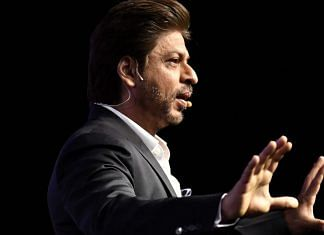 File photo of Shah Rukh Khan | Anindito Mukherjee/Bloomberg